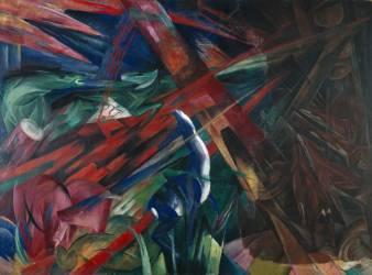 Destin des animaux (Franz Marc) - Muzeo.com