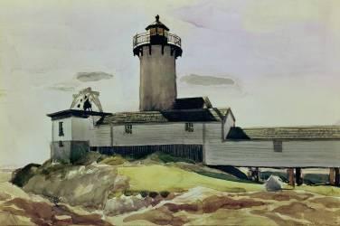 Eastern Point Light (Hopper Edward) - Muzeo.com