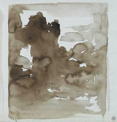 Ebauche abstraite pour les Chimères ? (Gustave Moreau) - Muzeo.com