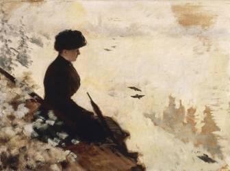 Effet de Neige (Giuseppe de Nittis) - Muzeo.com