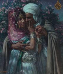 Esclave d'amour et Lumière des yeux : Abd-el-Gheram et Nouriel-Aïn (légende arabe) (Dinet Etienne) - Muzeo.com