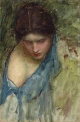 Esquisse de Nymphe (John William Waterhouse) - Muzeo.com