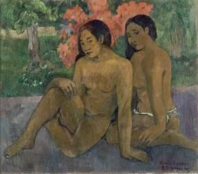 Et l'or de leur corps (Paul Gauguin) - Muzeo.com