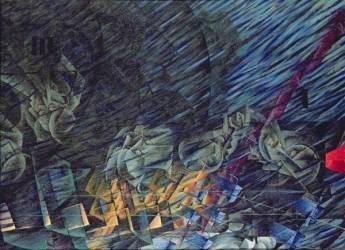 Etats d'esprit : ceux qui partent (Boccioni Umberto) - Muzeo.com