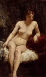 Etude de femme nue (Henri Fantin-Latour) - Muzeo.com