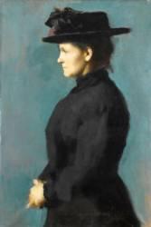 Eugénie Henner, nièce de l'artiste (Jean-Jacques Le Tintoret) - Muzeo.com
