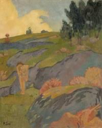 Eve bretonne ou Mélancolie (Serusier Paul) - Muzeo.com