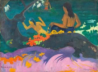 Fatata te Miti (Au bord de la mer) (Paul Gauguin) - Muzeo.com