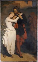 Faust et Marguerite dans le Jardin (Ary Scheffer) - Muzeo.com