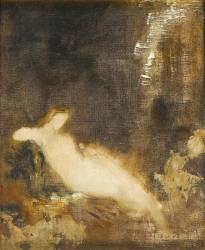 Fée aux griffons (Gustave Moreau) - Muzeo.com