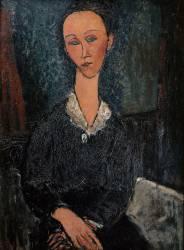 Femme au col blanc (Modigliani Amedeo) - Muzeo.com