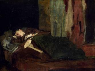 Femme endormie (Gervex Henri) - Muzeo.com