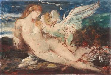 Femme et Chimère (Gustave Moreau) - Muzeo.com