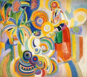 Femme Portugaise (Robert Delaunay) - Muzeo.com