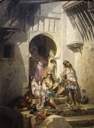 Femmes d'Alger (Giraud, Eugène) - Muzeo.com
