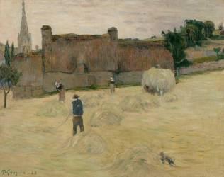 Fenaison en Bretagne (Paul Gauguin) - Muzeo.com
