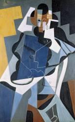 Figure de femme (Gris Juan) - Muzeo.com