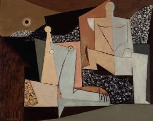 Figures sur la Plage (Louis Marcoussis) - Muzeo.com