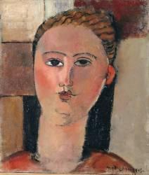 Fille rousse (Amedeo Modigliani) - Muzeo.com