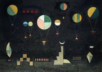 Flach tief (Kandinsky Wassily) - Muzeo.com