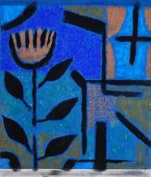 Fleur de nuit (Paul Klee) - Muzeo.com