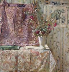Fleurs (Edouard Vuillard ) - Muzeo.com