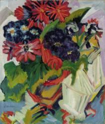Fleurs (Ernst Ludwig Kirchner) - Muzeo.com
