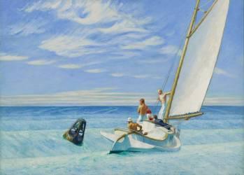 Lame de fonds (Edward Hopper) - Muzeo.com