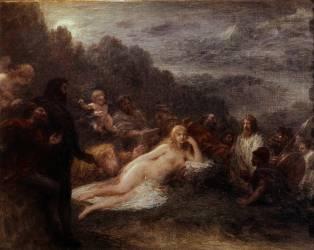 Hélène (Henri Fantin-Latour) - Muzeo.com