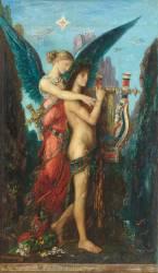 Hésiode et la Muse (Gustave Moreau) - Muzeo.com