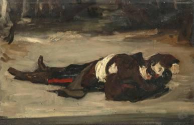 Henri Régnault mort (Carolus-Duran) - Muzeo.com