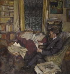 Henri Xavier Fontaine (1882-1948), ingénieur conseil et amateur d'art (Edouard Vuillard) - Muzeo.com