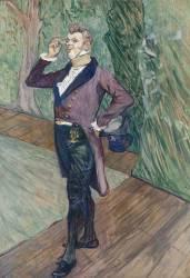 Henry Samary (1865-1902), de la Comédie-Française (Henri de Toulouse-Lautrec) - Muzeo.com