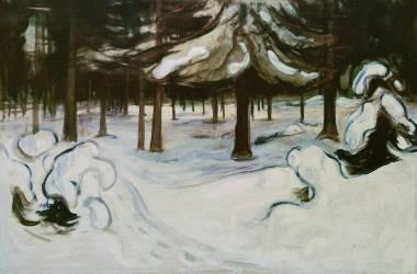 Hiver (Edvard Munch) - Muzeo.com