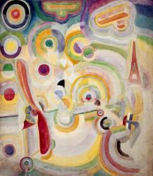 Hommage à Blériot (Robert Delaunay) - Muzeo.com