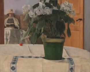 Hortensia (Fernand Khnopff) - Muzeo.com