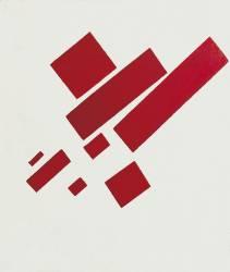 Huit Rectangles Rouges (Malevitch Kazimir) - Muzeo.com