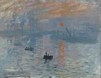 Impression, soleil Levant (Claude Monet) - Muzeo.com