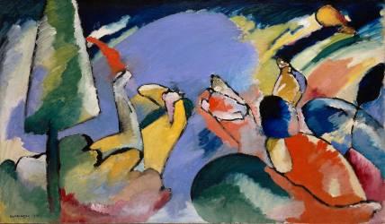 Improvisation XIV (Wassily Kandinsky) - Muzeo.com