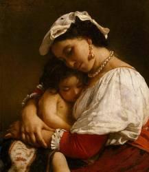 Italienne (Léon Bonnat) - Muzeo.com