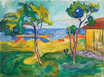 Jardin de Asgardstrand (Edvard Munch) - Muzeo.com