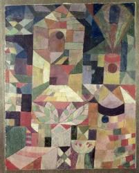 Jardin de Château, 1919 (Paul Klee) - Muzeo.com