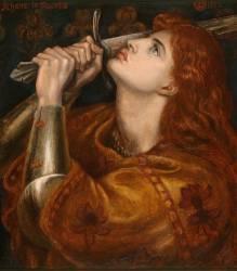 Jeanne d'Arc (Dante Gabriel Rossetti) - Muzeo.com