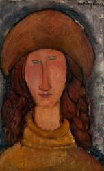 Jeanne Hébuterne (Modigliani Amedeo) - Muzeo.com