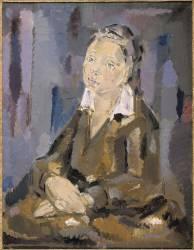 Jeune fille aux mains croisées (Blanchard Maria) - Muzeo.com