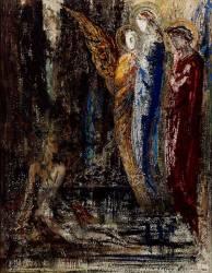 Job et les anges (Moreau Gustave) - Muzeo.com