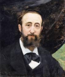 Jules Claretie (1840-1913), ancien administrateur général de la Comédie-Française (Carolus-Duran) - Muzeo.com