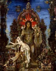 Jupiter et Sémélé (Moreau Gustave) - Muzeo.com