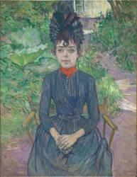 Justine Dieuhl (Toulouse-Lautrec Henri de) - Muzeo.com