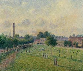 Kew's green (Camille Pissarro) - Muzeo.com